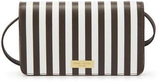 Henri Bendel West 57Th Centennial Stripe Xl Smartphone Case Crossbody
