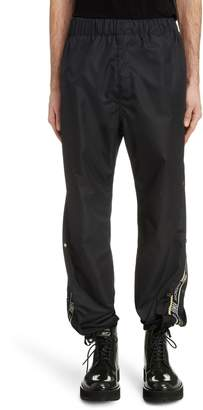Givenchy Snap Seam Logo Jogger Pants