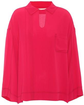 Marni Crepe silk-blend blouse