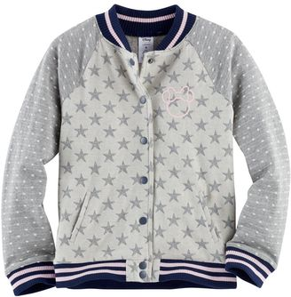 Disney's Minnie Mouse Toddler Girl Raglan Bomber Jacket by Jumping Beans® $40 thestylecure.com