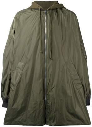 Juun.J hooded oversized coat