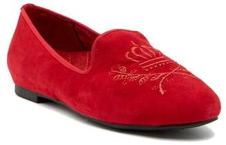 Vionic Romi Embroidered Suede Loafer