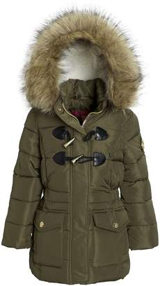 Catherine Malandrino Catherine Malndrino Girls Winter Down Alternative Toggle Puffer Hood Jacket Coat - (Size)