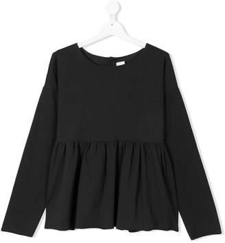La Bottega Di Giorgia TEEN peplum sweatshirt