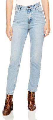 Sandro Parisien Ankle Slim Jeans in Blue Vintage