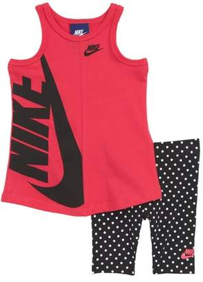 Nike Futura Tank & Capri Leggings Set