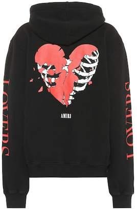 Amiri Lovers cotton hoodie