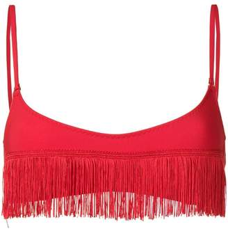 Stella McCartney fringed bikini top