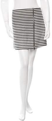 Bouchra Jarrar Striped Mini Skirt w/ Tags