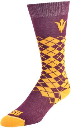 NCAA Women's Mojo Arizona State Sun Devils Argyle Socks