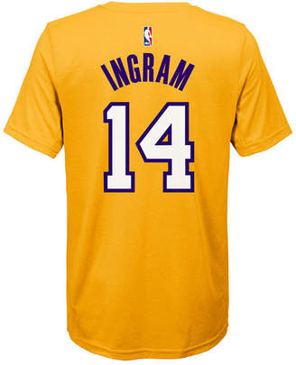 Nike Brandon Ingram Los Angeles Lakers Icon Name & Number T-Shirt, Big Boys (8-20)
