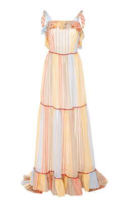 Sirena Markarian Ruffle Gown