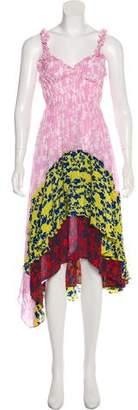Preen Line Floral Print Maxi Dress