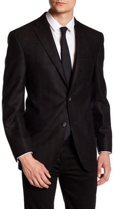 David Donahue Two Button Wool Sport Coat $595 thestylecure.com