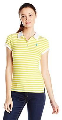U.S. Polo Assn. U.S. Polo Shirt Assn. Junior's Stripe Jersey Polo Shirt