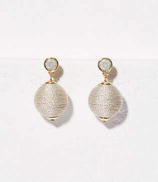 LOFT Stone Ball Drop Earrings