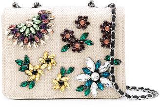 Essentiel Antwerp floral embellished shoulder bag