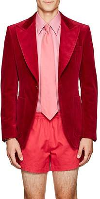 Gucci Men's Cotton Velvet One-Button Sportcoat