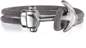 Forzieri Nautical Rope Double Bracelet w/Anchor