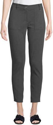 MICHAEL Michael Kors D-Ring Ponte Straight-Leg Pants