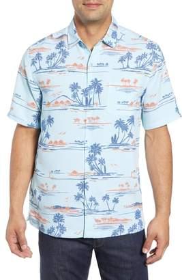 Kahala Bright Sands Trim Fit Sport Shirt