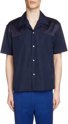 Maison Margiela Short Sleeve Camp Shirt