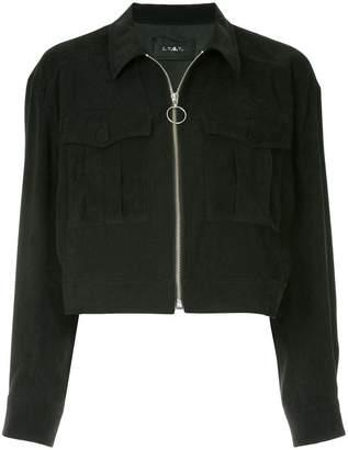 G.V.G.V. zipped short jacket