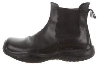 Prada Sport Square-Toe Ankle Boots