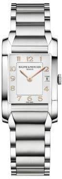 Baume & Mercier Hampton 10049 Stainless Steel Bracelet Watch