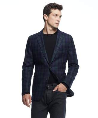 Todd Snyder Black Label Sutton Black Label Unconstructed Sport Coat in Blackwatch Wool