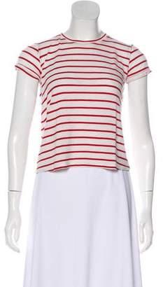 Reformation Striped Short Sleeve T-Shirt