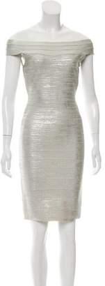 Herve Leger Bridget Bandage Dress