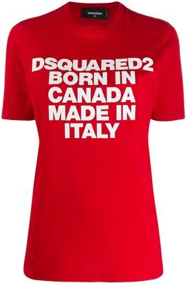 DSQUARED2 Born In Canada T-shirt