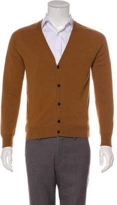 Ami Alexandre Mattiussi Cashmere Button-Up Cardigan