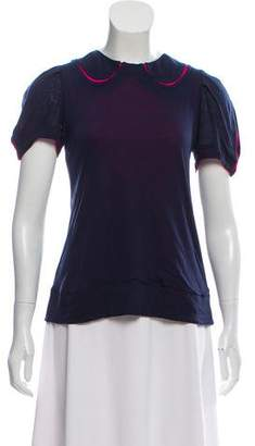 Marc by Marc Jacobs Color Block Short-Sleeve Top