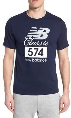 New Balance Athletics Classic 574 Crewneck T-Shirt