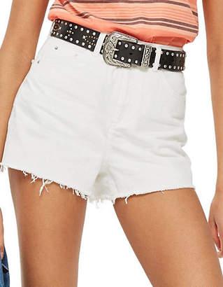 Topshop PETITE Mom Shorts