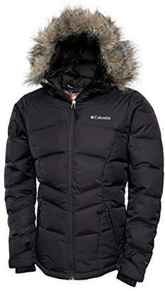 Columbia Midnight Snow Ii Women's Omni Heat Down Winter Jacket (L)