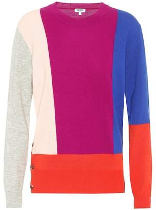Kenzo Cotton, wool and cashmere sweater