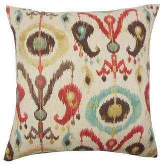 Ikea The Pillow Collection Ikat Cotton Throw Pillow The Pillow Collection