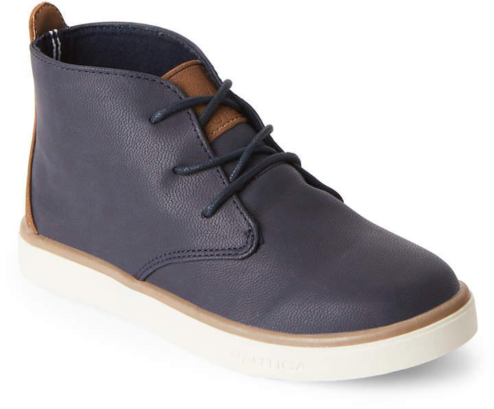Kids Boys) Navy Pierson Chukka Sneakers