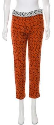Michael Van Der Ham Mid-Rise Patterned Pants