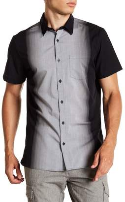 Calvin Klein Ombre Placket Short Sleeve Shirt