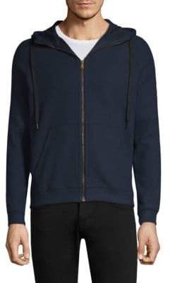 Tomas Maier Zip-Up Hooded Sweater