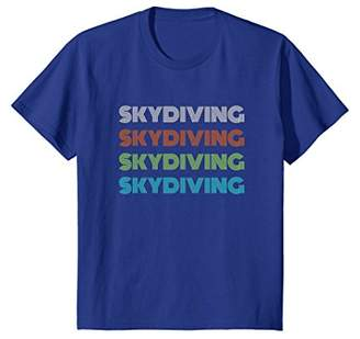 Classic 1970's Skydiving T-Shirt