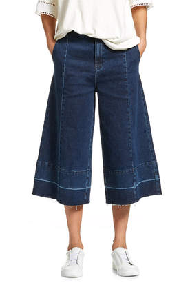 Jag Denim Crop Culotte