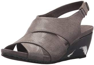 Anne Klein AK Sport Women's Carolyn Fabric Wedge Sandal