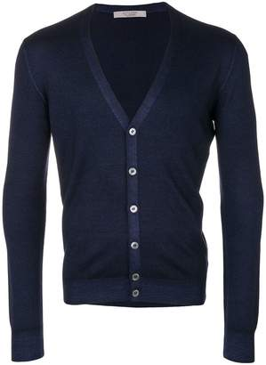 D'aniello La Fileria For V-neck buttoned cardigan
