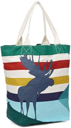 HBC Stripes Charles Pachter Canvas Tote