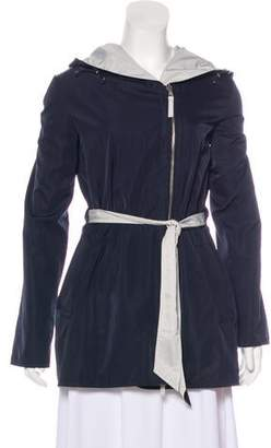 Armani Collezioni Reversible Hooded Jacket